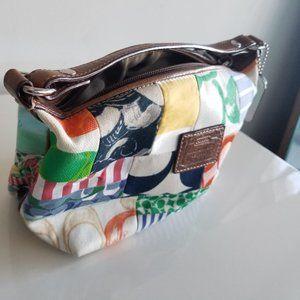 Coach Signature Patchwork Mini Hobo Bag